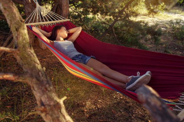 pihenés a szabadban